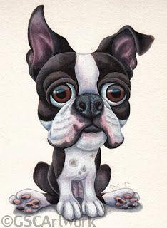 GSC Artwork: For the Boston Terrier fans