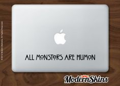 American Horror Story inspired laptop decal  All by modernskins, $7.00