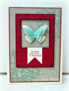 Regarding Dahlias stamp set, Gorgeous Grunge stamp set, Petite Pairs stamp set, Dictionary background stamp, Eastern  Elegance DSP, Squares Framelits, Hearts A Flutter Framelits, Elegant Butterfly punch, Bitty Butterfly punch, Beautiful WIngs Embosslits by  White House Stamping