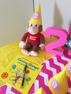 Tuckers' Tales: Curious Hadley's 2nd Birthday Party
