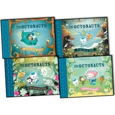 The Octonauts 4 Books Collection Pack Set. The Octonauts and the Only Lonely Monster, The Octonauts and the Sea of Shade, The Octonauts and the Great Ghost Reef, The Octonauts and the Frown Fish,