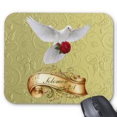 Jesus as the Rose of Sharon Mousepad