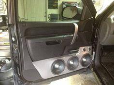 CT Sounds Pro Audio Speakers on a door panel Pro Audio Speakers, Jl Audio, Custom Car Audio, Custom Cars, Big Boyz, Custom Car Interior, Panel Doors, Console, Cool Photos