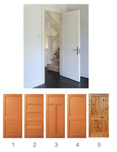 Craftsman Interior | SHAKER STYLE INTERIOR DOORS « Interior Doors. Love the arched one!
