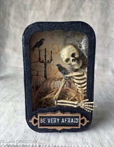"""""""The Patriot"""" altered soap tin """"Once Upon A Springtime"""" x altered tin """"Treasures of the Ocean"""" x a. Matchbox Art, Altered Tins, Vintage Box, Alters, Patriots, Spring Time, Lunch Box, Halloween, Creative"""