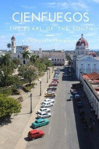 """Cienfuegos, """"the pearl of the south"""", mixes French charm with Caribbean vibe, Spanish influences and stunning sunsets. Cuba Itinerary, Cienfuegos, Cuba Travel, Nature Reserve, Cabaret, Trinidad, The Locals, Cemetery, Spin"""