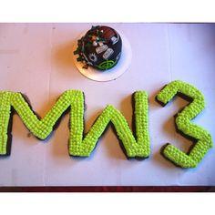 Modern Warfare 3 call of duty cake. MW3