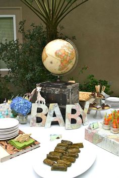 Baby Shower Party Ideas | Photo 10 of 26 | Catch My Party