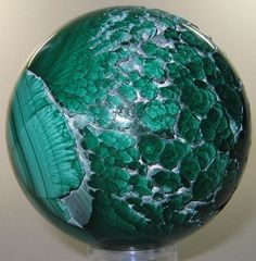 """Malachite """"Plumes"""" 