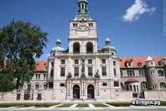 Баварский Национальный музей - Мюнхен Германия - Здание музея