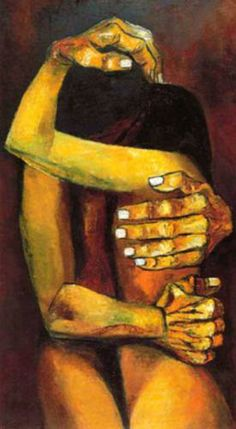 'La Unión' by Eduardo Kingman Riofrío (Loja 1913~1997 Quito) who was one of Ecuador's greatest artists of the 20th century, among the art circles of other master artists such as Oswaldo Guayasamin and Camilo Egas | but It's NOT a work of Oswaldo Guayasamin!