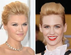 Emily Rose and January Jones (© Rex Features/AP Images)