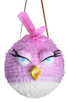 piniata angry birds pink - Szukaj w Google