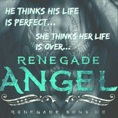 "*´¨) COVER REVEAL (¸.•´ (¸.•` RENEGADE ANGEL Renegade Sons MC series, book three Emily Minton Summer 2015 Blurb Aaron ""Timber"" Kellar is running from his past. He turns his back on his family and walks away from his legacy as the next President of his father's club. Knowing it's time to start over, he does his best to forget the day that changed him forever and goes on to build a new life half way across the country with the Renegade Sons MC. He thinks his life is perfect, until he lays eyes…"