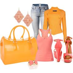 That Bag: Candy - Mango by laaudra-rasco on Polyvore