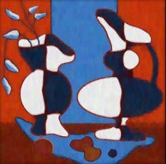 """The Art of Film : Iconic Otterson Vase Painting Frasier Crane's Apartment in """"Frasier"""""""