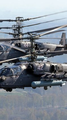 Kamov fighter helicopter of the Russian Air Force Russian Military Aircraft, Military Helicopter, Military Jets, Air Fighter, Fighter Jets, Surplus Militaire, Attack Helicopter, Russian Air Force, Military Photos