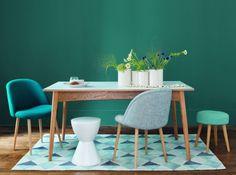 Maisons du monde chaise et tabouret scandinave