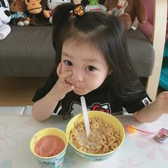 Cute Asian Babies, Cute Funny Babies, Korean Babies, Asian Kids, Asian Cute, Cute Little Baby, Pretty Baby, Little Babies, Baby Kids