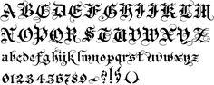 gothic font - Cerca con Google