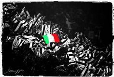 Bianconero & tricolore....immagine Salvatore Giglio...