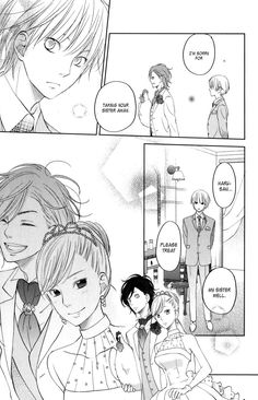 Tonari no Kaibutsu-kun 52 Page 35....Adorableness....and haru is takin the chicken with him xD because haru that's why