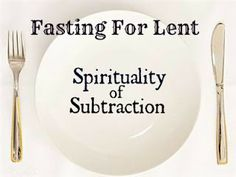 Fasting For Lent - Pieces of Amy