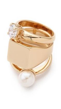 Maison Martin Margiela Stacked Ring | SHOPBOP #rings $380