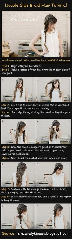 Double Side Braid Tutorial
