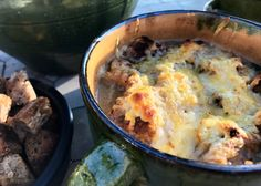 Cheeseburger Chowder, Mashed Potatoes, Food And Drink, Den, Ethnic Recipes, Provence, Soups, Salads, Drinks