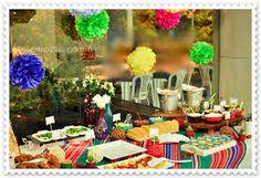 Resultado de imagem para decoração de festa tematica-mexicana