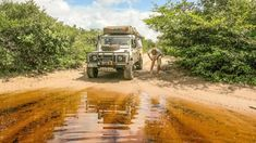 Expedition: Overlander Off-Road Driving Techniques – Water Crossings. Lençóis Maranhenses National Park, Lander Rover, Land Rover Defender 110, Landrover Defender, Expedition Vehicle, House On Wheels, Adventure Awaits, Car Photos, Offroad