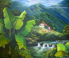 platanal, bella obra. paisajista venezolano freddy martínez