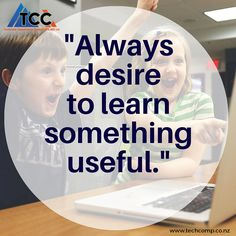 One should not focus on rote learning for the short term, but for #Life long #Learning for the long run. TCC wishes you a #Happy #Monday!