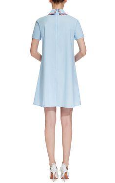 Dris Embroidered Poplin Dress by Vivetta Now Available on Moda Operandi