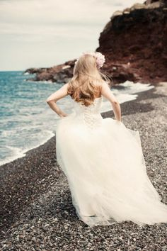 #wedding #beach #Santorini