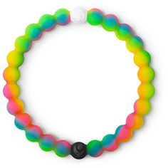 Neon Lokai Bracelet ($20) ❤ liked on Polyvore featuring jewelry, bracelets, neon bangles, silicone jewelry and neon jewelry
