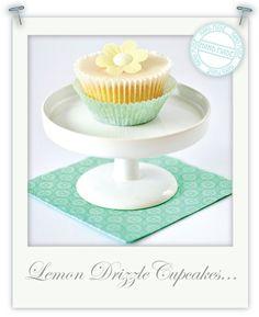 Gluten free lemon drizzle cupcakes by Torie Jayne