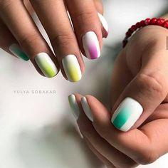 Modny Manicure na Lato – TOP 20+ Cudownych Inspiracji na Letnie Paznokcie Mani Pedi, Manicure, Nails, Facial Tips, Nail Designs, Nail Art, Makeup, Beauty, Diy