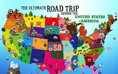 The Ultimate Road Trip across the USA