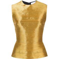 Oscar de la Renta wired blouse ($1,794) ❤ liked on Polyvore featuring tops, blouses, black, oscar de la renta, oscar de la renta blouse and oscar de la renta top