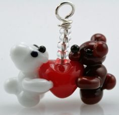 Handmade Art Charm by Jessi R 100% donated to Beads of Courage
