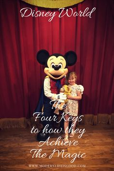 The Four Keys to Service Standards at Disney World as taught by Disney Institute and Disney University. I have always been fascinated by how Disney delivers a consistent customer experience the reason is The Four Keys to Service Standards