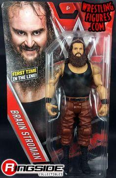 WWE ELITE SERIES 52 BRAUN STROWMAN FIGURE BRAND NEW IN BOX TNA WWF WCW NWO ROH