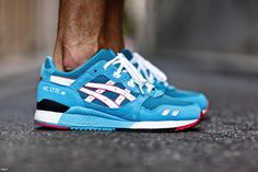 "PYS x Asics Gel Lyte III ""Teal Dragon"""