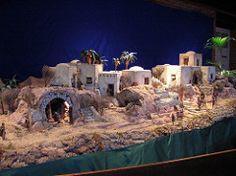 Asociación de Belenistas de Guadalajara - Álbumes Flickr Nativity House, Diy Nativity, Christmas Nativity Scene, Christmas Villages, Christmas Art, Christmas Projects, Christmas Holidays, Nativity Scenes, Journey To Bethlehem