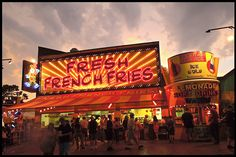 Missing the warm weather and the MN State Fair!