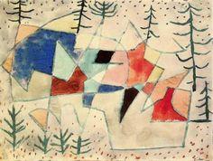 Paul Klee (Swiss, 1879–1940) Later WorkEdelklippe (1933)watercolor 31.8 x 43 cm