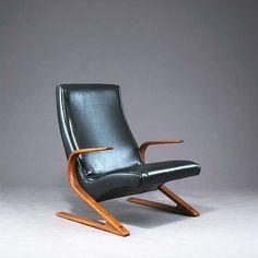 Paul Bode; Armchair for Federholzgesellschaft, c1960.