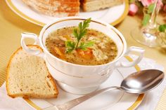 Photo about Traditional polish tripe soup with vegetables in white elegance dishware. Image of food, cuisine, onion - 16110443 Tripe Soup, Soup Recipes, Cooking Recipes, Romanian Food, I Want To Eat, Recipe Images, Cheeseburger Chowder, Thai Red Curry, Mashed Potatoes